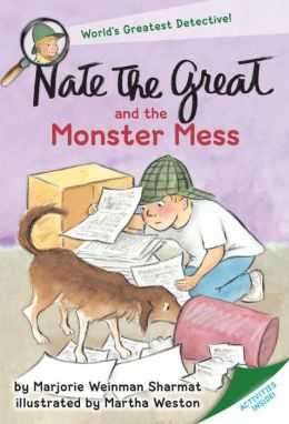 Nate the Great and the Monster Mess (Nate the Great Series)