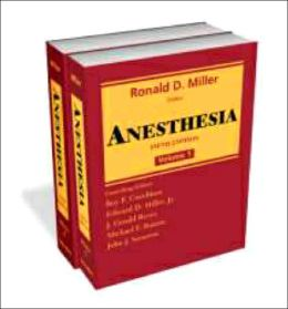 Anesthesia: 2-Volume Set