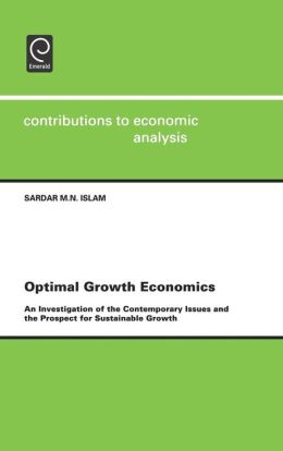 Optimal Growth Economics
