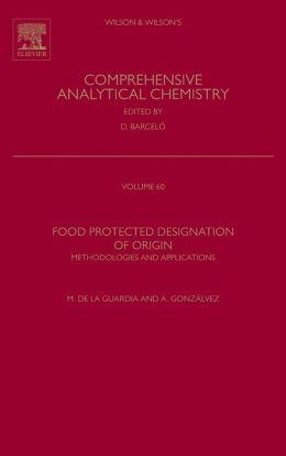 Food Protected Designation of Origin: Methodologies and Applications