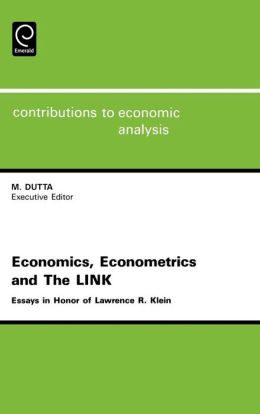 Economics, Econometrics And The Link