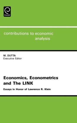Economics, Econometrics And The Link