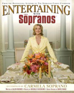 Entertaining with the Sopranos Carmela Soprano, Michele Scicolone and David Chase