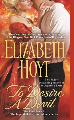 To Desire a Devil (Legend of the Four Soldiers Series #4)