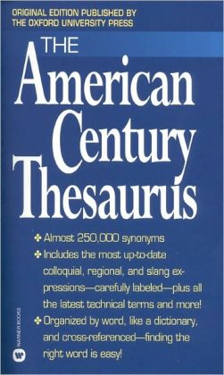 The American Century Thesaurus