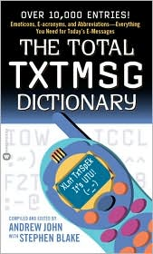 Total TXTMSG Dictionary