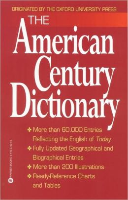 The American Century Dictionary
