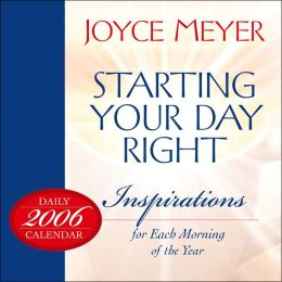 2006 Starting Your Day Right Box Calendar