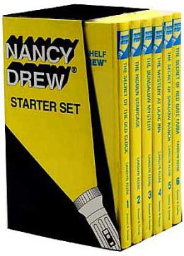 Nancy Drew Starter Set: The Secret of the Old Clock/The Hidden Staircase/The Bungalow Mystery/The Mystery at Lilac Inn/The Secret of Shadow Ranch/The Secret of the Red Gate Farm