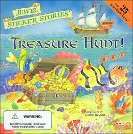 Treasure Hunt! (Jewel Sticker Stories Series)