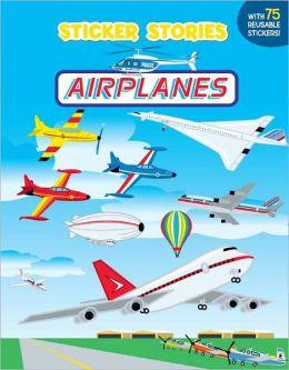 Sticker Stories: Airplanes