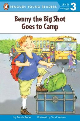 Benny the Big Shot Goes to Camp (All Aboard Reading Series)