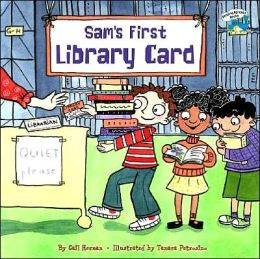 Sam's First Library Card