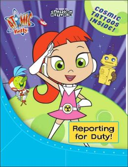 Reporting for Duty!: Activity Book with Tattoos