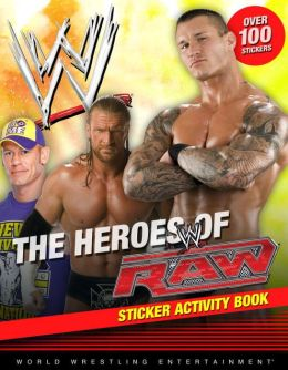 The Heroes of Raw Sticker Activity Book