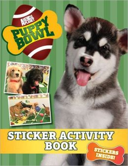 Puppy Bowl: Sticker Activity Book