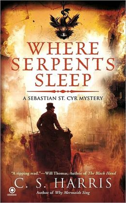 Where Serpents Sleep (Sebastian St. Cyr Series #4)