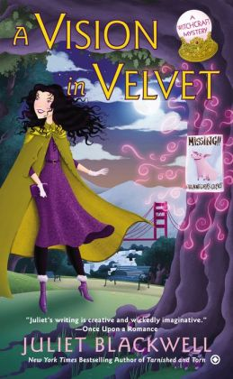 A Vision in Velvet (Witchcraft Mystery Series #6)