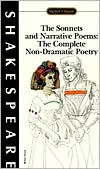 The Sonnets and Narrative Poems: The Complete Non-Dramatic Poetry