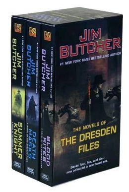 Jim Butcher Box Set The Novels of the Dresden Files #2