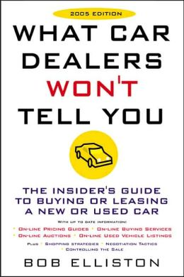 What Car Dealers Won't Tell You 2005