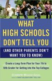 Book Cover Image. Title: What High Schools Don't Tell You (and Other Parents Don't Want You to Know):  Create a Long-Term Plan for Your 7th to 10th Grader for Getting Into the Top Colleges, Author: Elizabeth Wissner-Gross