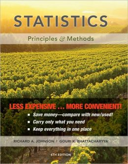(WCS)Statistics: Principles and Methods 5th Edition Binder Ready without Binder