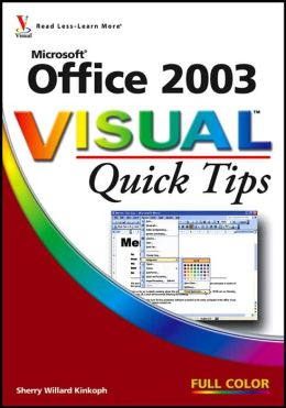Office 2003 Visual Quick Tips