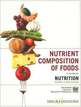 Nutrition, Nutrient Composition of Foods Booklet: Science and Applications