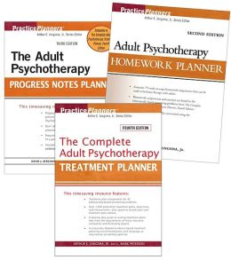 Adult Set- Treatment 4th Edition, Homework 2nd Edition, Progress Notes 3rd Edition