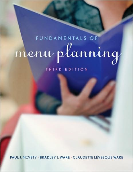 Fundamentals of Menu Planning