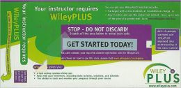 Wiley Plus Stand-alone to accompany Applied Statistics and Probability for Engineers