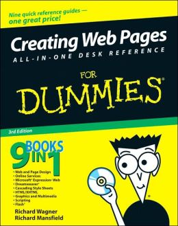 Creating Web Pages All-in-One Desk Reference For Dummies