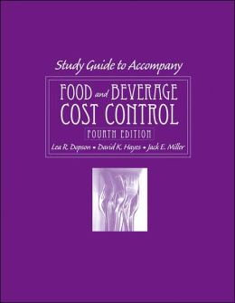 Food and Beverage Cost Control, with CD-ROM, Study Guide