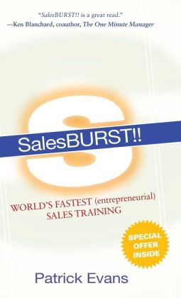 Salesburst!! World's Fastest (Entrepreneurial) Sales Training