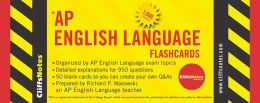 CliffsNotes AP English Language Flashcards