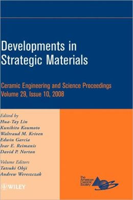 Developments in Strategic Materials: Ceramic Engineering and Science Proceedings
