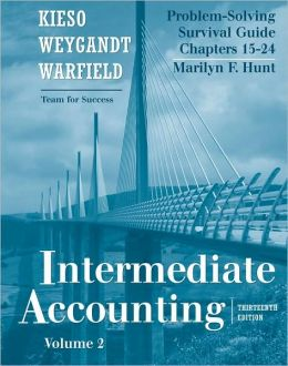 Problem Solving Survival Guide, Vol. II (Chapters 15-24) t/a Intermediate Accounting