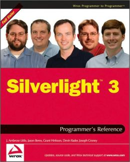 Silverlight 3: Programmer's Reference