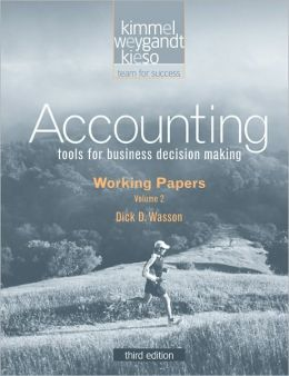 Accounting, Working Papers VII