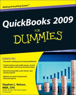 QuickBooks 2009 For Dummies