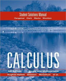 solution manual calculus early transcendentals 7e