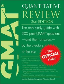 Official Guide for GMAT Quantitative Review