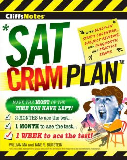 CliffsNotes SAT Cram Plan