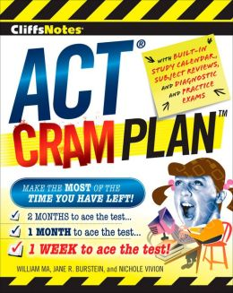 CliffsNotes ACT Cram Plan
