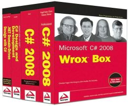Microsoft C# 2008 Wrox Box: Pro C# 2008, C# 2008 Programmer's Ref, C# Design and Dev, .NET Domain-Driven Design with C# Problem Design Solution