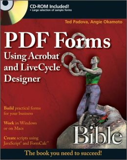 PDF Forms Using Acrobat and Livecycle Designer