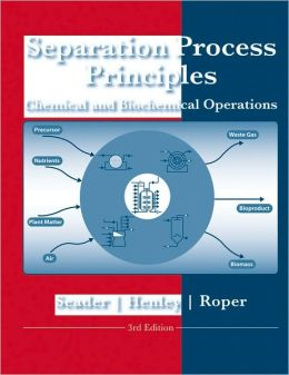 Separation Process Principles