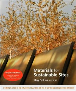 Materials for Sustainable Sites and WileyCPE.com Materials for Sustainable Sites Course set