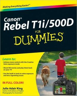 Canon EOS Rebel T1i/500D For Dummies